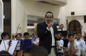 Presentando a la Orquesta Gonzalo Brenes de la REd de Filarmonicas Infantiles y Juveniles de Panama